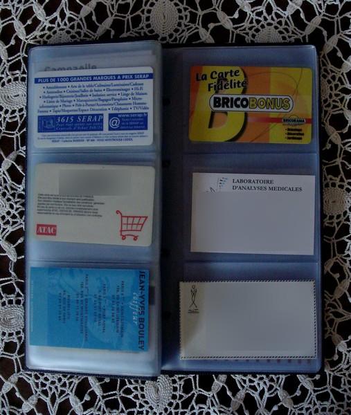 Porte cartes de visites