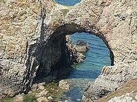 zoom sur l'arche.