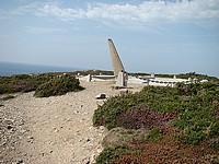 Le monument en mémoire aux disparus de la marine