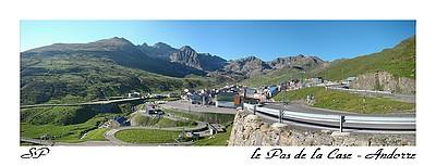 Le Pas de la Case en Andorre (juin 2007).