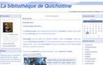 la bibliothèque de Quichottine