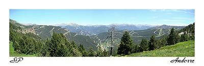 Paysages d'Andorre (juin 2007).