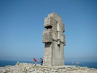le monument à la gloire des bretons des forces francaises libre