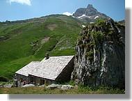Refuge dans la vallée d'Aspe