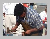 Vieux métiers à Concarneau