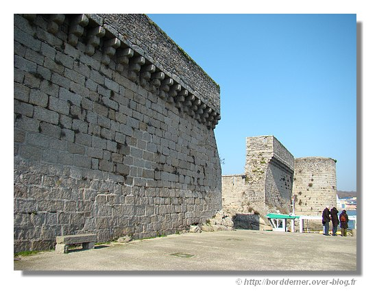 Les remparts de la Ville Close de Concarneau - © http://borddemer.over-blog.fr