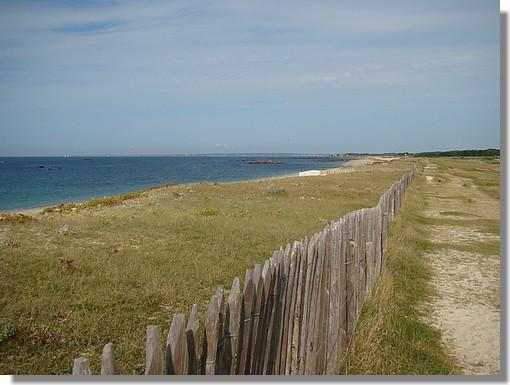 Balade sur les dunes de Trégunc, près de la plage de Kérouini. Photo prise le 6 septembre 2009. - © http://borddemer.over-blog.fr