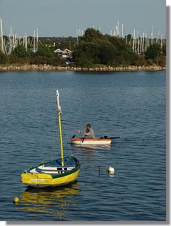 Le vieux port de la Forêt Fouesnant. Photo prise le dimanche 6 septembre 2009. - © http://borddemer.over-blog.fr