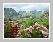 Le village de Lassur au coeur de l'Ariège