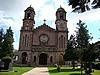 l'église Santiago d'Elizondo