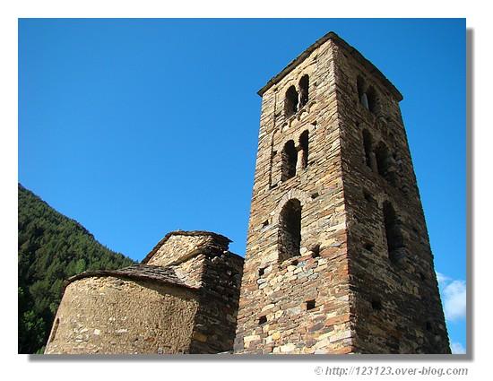 L'église Sant Joan de Caselles est incontestablement l'un des chefs-d'oeuvre des églises romanes andorranes. - &cophttp://123123.over-blog.com