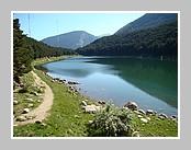 Le lac d'Engolaster (Andorre). Juin 2007.