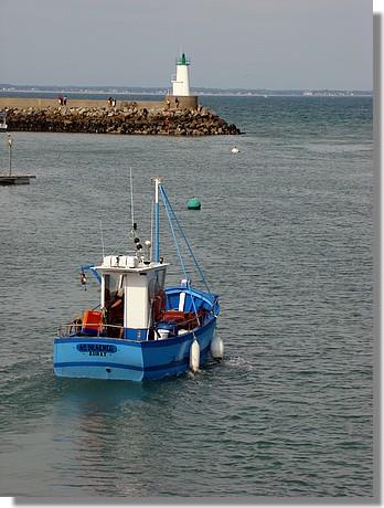 Port Haliguen - Quiberon. Photo prise le 9 septembre 2009. - © http://borddemer.over-blog.fr