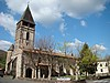L'église de St Etienne de Baïgorry