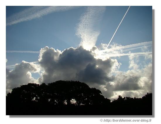 Ciel au-dessus du Minaouët (Concarneau) le 1er septembre 2008 à 10h du matin - © http://borddemer.over-blog.fr