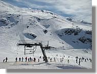 Station de ski de Gavarnie (65) en mars 2008