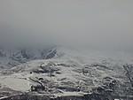 Couvert sur les sommets (hiver 2008).
