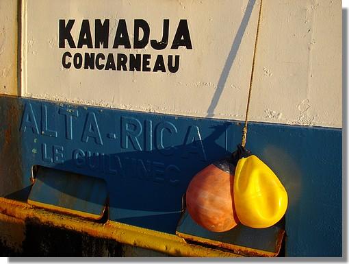 Couleurs du Kamadja à quai dans le port. Photo prise le 20 septembre 2009. - © http://borddemer.over-blog.fr