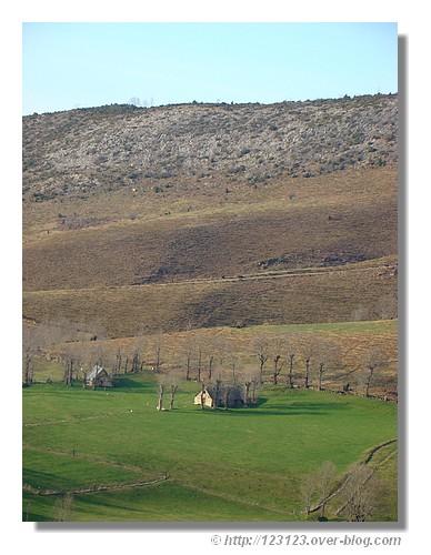Près du Hautacam, dans les Hautes Pyrénées. Mars 2008. - © http://123123.over-blog.com