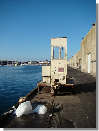 Quai du port de Concarneau. Photo prise le samedi 26 septembre 2009. - © http://borddemer.over-blog.fr