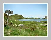 L'étang d'Appy sur le Massif de Tabe. Juin 2007 - Ariège.