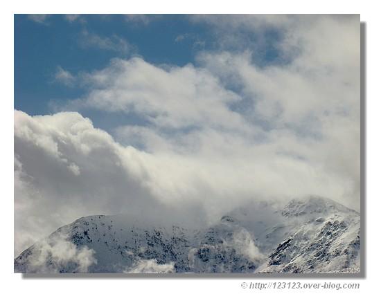 Sur les sommets (Hautes Pyrénées - Mars 2008). - &cophttp://123123.over-blog.com