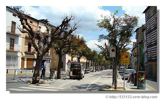 La ville espagnole de Puigcerda en juin 2007 - © http://123123.over-blog.com
