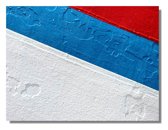 Gros plan sur la coque d'un chalutier dans le port de Concarneau. Photo prise le 31 mai 2009. - © http://borddemer.over-blog.fr