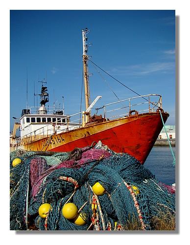 Le chalutier Simplon de Concarneau à quai dans le port. Photo prise le dimanche 14 juin 2009. - © http://borddemer.over-blog.fr