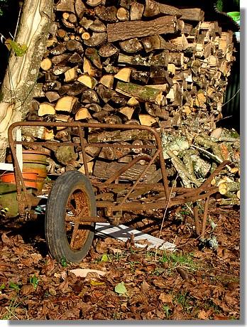 Le bois est près pour l'hiver. Photo prise le 6 décembre 2009. - © http://borddemer.over-blog.fr