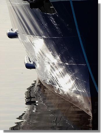 Coque du bateau à passagers Enez Sun (Audierne). Photo prise le 10 décembre 2009. - © http://borddemer.over-blog.fr