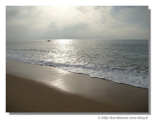 Une plage de Trégunc, le lundi 8 décembre 2008 - © http://borddemer.over-blog.fr