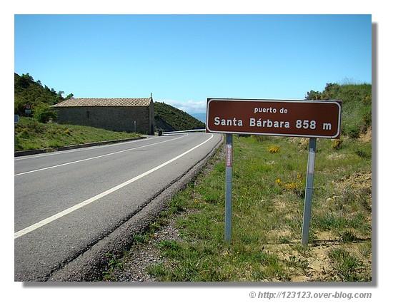 Le col de Santa Barbara (Aragon - Juin 2008)- © http://123123.over-blog.com
