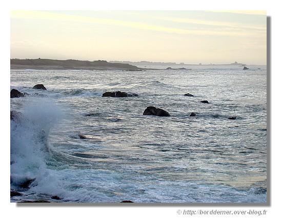 La Pointe de Trévignon et son bord de mer en janvier 2009 - © http://borddemer.over-blog.fr