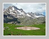 Le lac d'Estaens. Juin 2008 - Aragon Espagne.