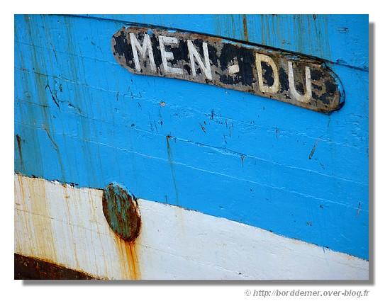 Nom d'un bateau de pêche dans le port de Concarneau (janvier 2009). - © http://borddemer.over-blog.fr