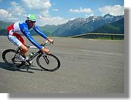Christophe Moreau sur la Route du Sud 2008 à Superbagnères