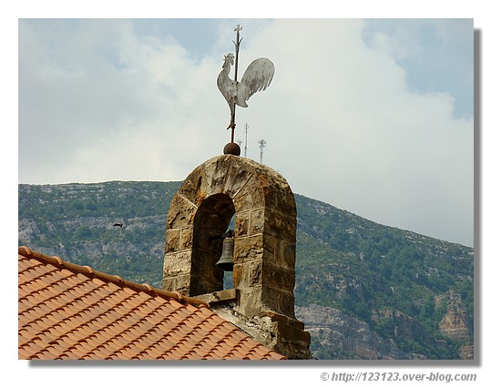 Détail d'un clocher espagnol (juin 2008) - © http://123123.over-blog.com
