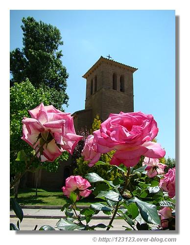 Carte postale de Apiés (Aragon) - été 2008. © http://123123.over-blog.com