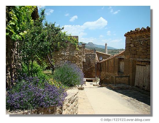 Dans le village de Sabayès (Aragon - Juin 2008) - © http://123123.over-blog.com
