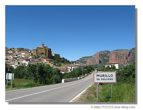 Murillo de Gállego, village espagnol en Aragon (Juin 2008) - © http://123123.over-blog.com