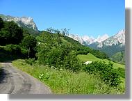Petite route en vallée d'Aspe (64)