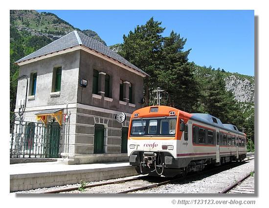Gare de Canfranc (Espagne - juin 2008) - © http://123123.over-blog.com