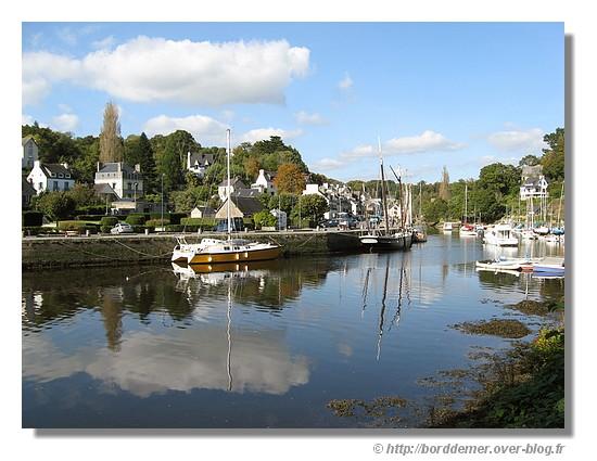 Paysage de Pont Aven (le jeudi 09 octobre 2008) - © http://borddemer.over-blog.fr