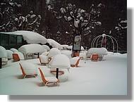 Beaucoup de neige, hiver 2007.