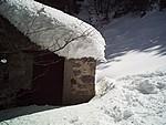 Neige au Pont d'Espagne (hiver 2007).