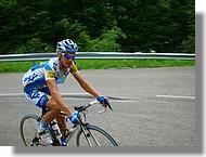 Carl Naibo de l'équipe AG2R.
