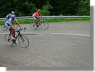 Jean Patrick Nazon (AG2R) leader de l'épreuve car vainqueur de la première étape.