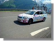 Une voiture de l'équipe Karpin Galicia.