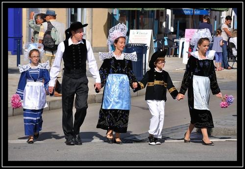 Le défilé des filets bleus 2013